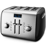 4-Slice Toaster with Manual High-Lift Lever and Digital Display amazon review