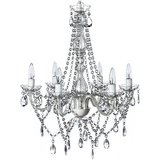 6-Light Large Crystal Chandelier amazon review
