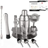 7-Piece Stainless Steel Set with Cocktail Recipe Guide amazon review