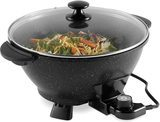 7.4-Quart Electric Wok with Lid amazon review