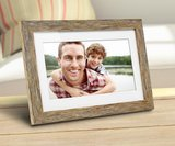 Blythdale 10-Inch Distressed Wood Digital Picture Frame amazon review