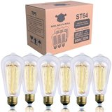 Clear Glass Antique Style Edison Light Bulbs (60w 6-pack) amazon review