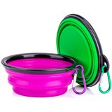 Collapsible Silicone Pet Bowl amazon review