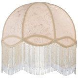 Fabric & Fringe Dome Shade amazon review