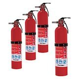 Home Fire Extinguisher Rated 1-A:10-B:C amazon review