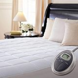 Luxury Quilted Electric Heated Mattress Pad amazon review