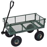 Muscle Carts Steel Utility Garden Wagon amazon review
