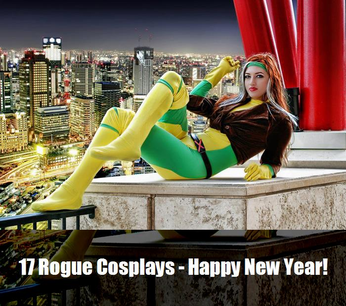 17 Rogue Cosplays   Happy New Year 10