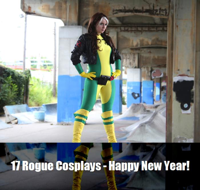 17 Rogue Cosplays   Happy New Year 15