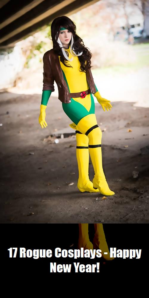 17 Rogue Cosplays   Happy New Year 16