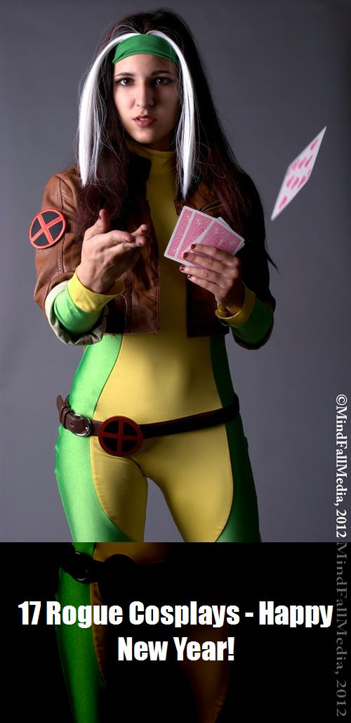 17 Rogue Cosplays   Happy New Year 5