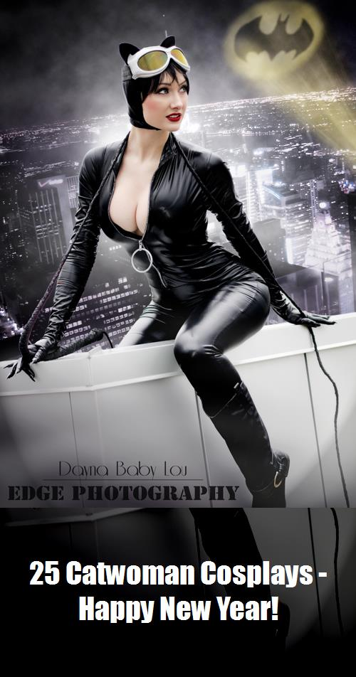 25 Catwoman Cosplays   Happy New Year 11