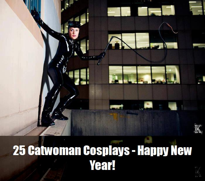 25 Catwoman Cosplays   Happy New Year 13