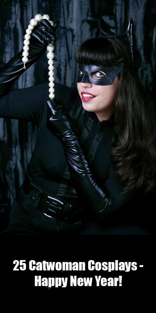 25 Catwoman Cosplays   Happy New Year 15
