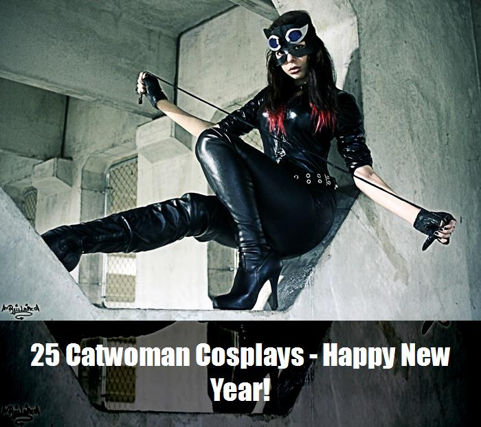 25 Catwoman Cosplays   Happy New Year 16