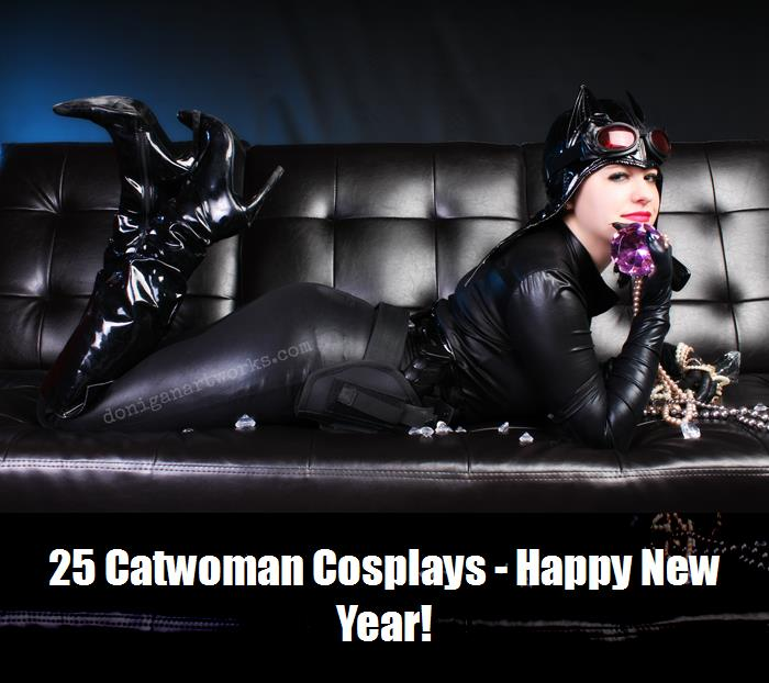 25 Catwoman Cosplays   Happy New Year 18