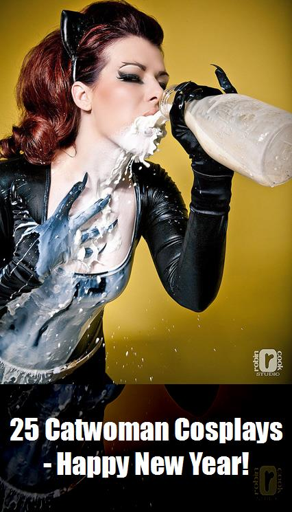 25 Catwoman Cosplays   Happy New Year 2