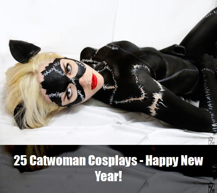 25 Catwoman Cosplays   Happy New Year 24