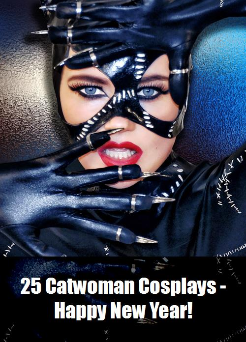 25 Catwoman Cosplays   Happy New Year 3