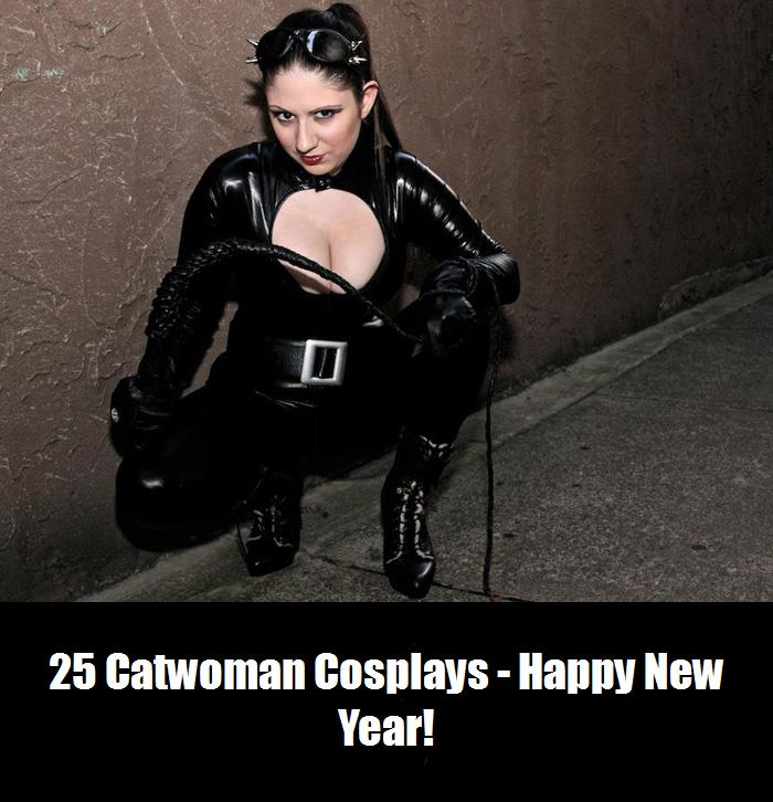 25 Catwoman Cosplays   Happy New Year 5