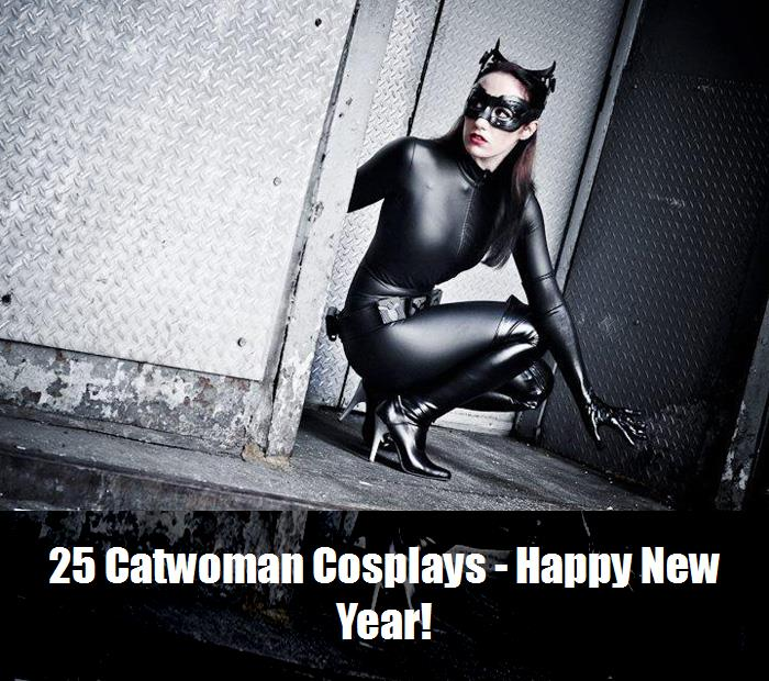 25 Catwoman Cosplays   Happy New Year 6