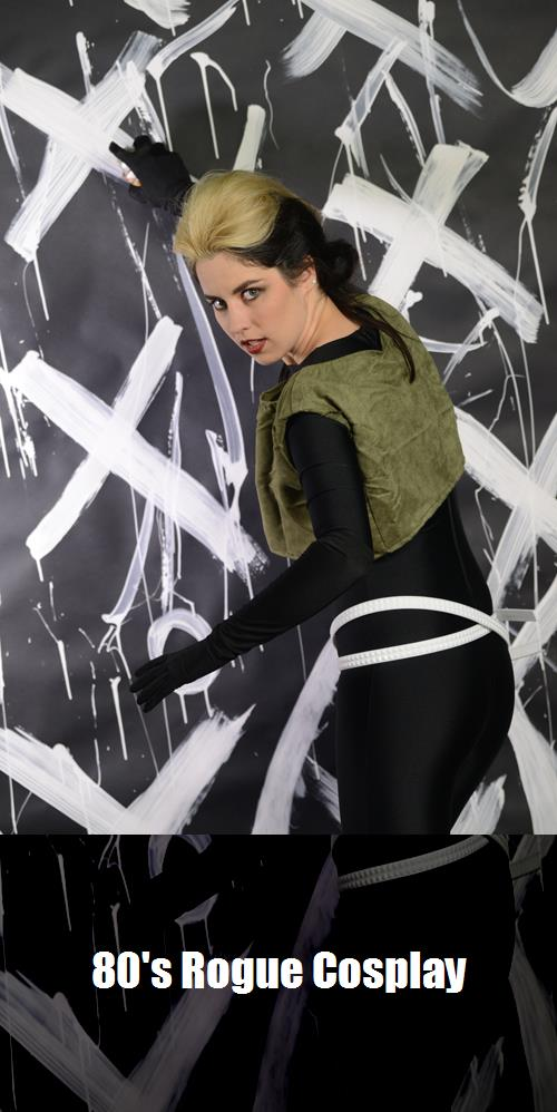 80s Rogue Cosplay