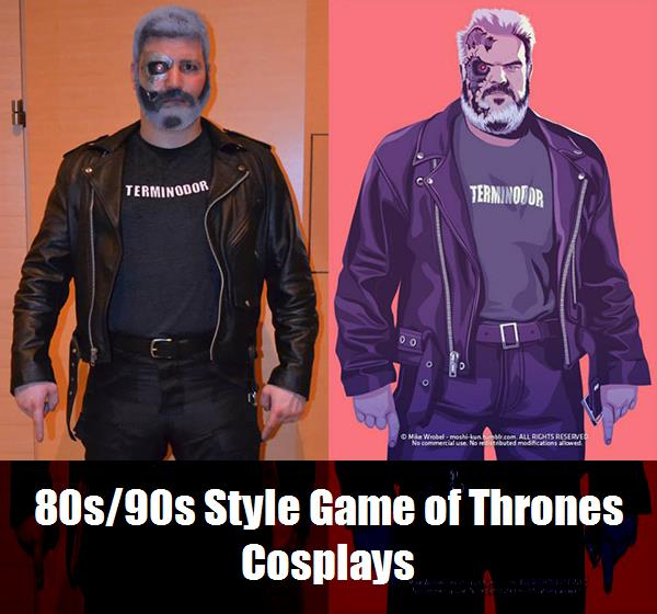 80s90s Style Game Of Thrones Cosplays 10