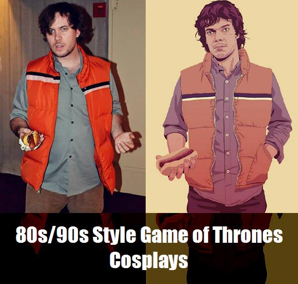 80s90s Style Game Of Thrones Cosplays 11
