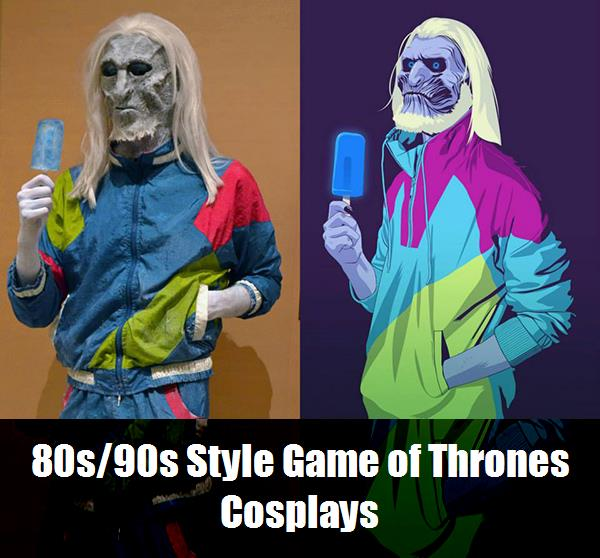 80s90s Style Game Of Thrones Cosplays 12
