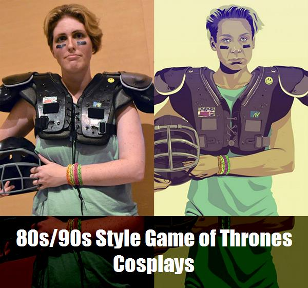 80s90s Style Game Of Thrones Cosplays 2