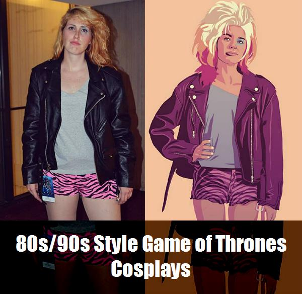 80s90s Style Game Of Thrones Cosplays 4