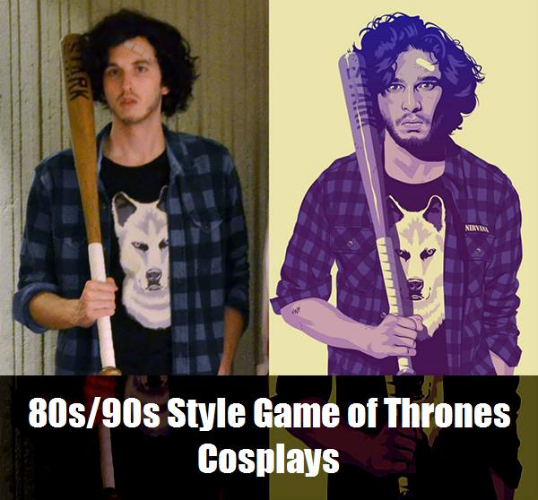 80s90s Style Game Of Thrones Cosplays 6