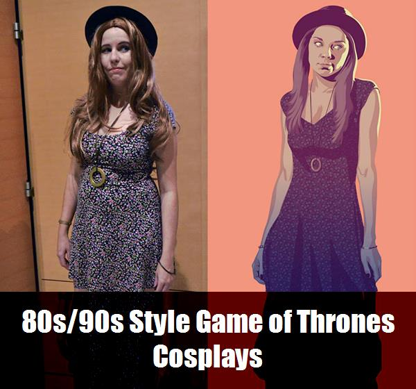 80s90s Style Game Of Thrones Cosplays 7
