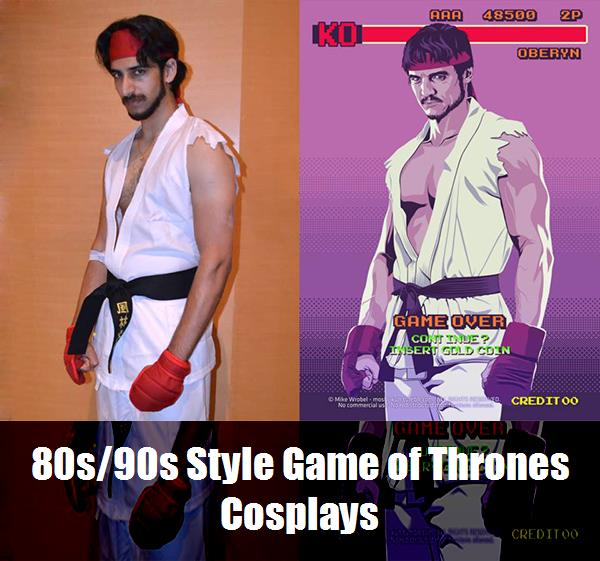 80s90s Style Game Of Thrones Cosplays 8
