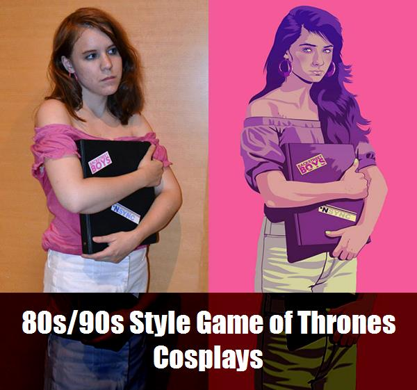 80s90s Style Game Of Thrones Cosplays 9