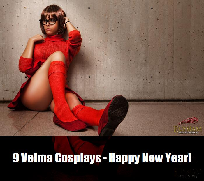 9 Velma Cosplays   Happy New Year 2