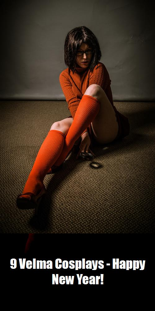 9 Velma Cosplays   Happy New Year 5
