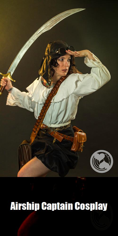 Airship Captain Cosplay 1