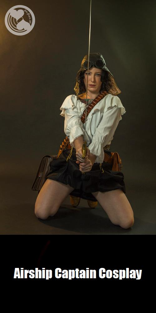 Airship Captain Cosplay 3