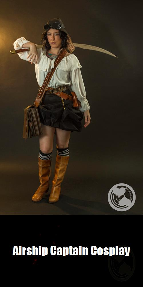 Airship Captain Cosplay 4