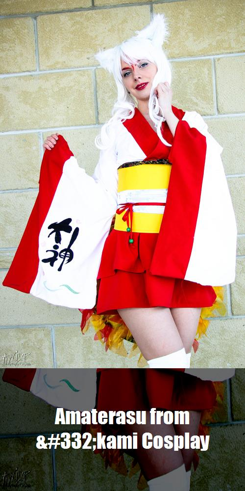 Amaterasu From 332kami Cosplay 1