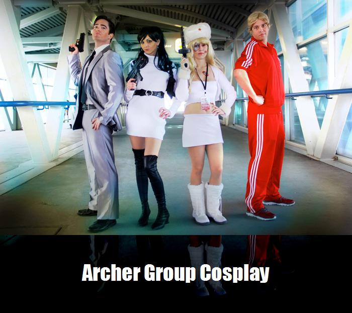 Archer Group Cosplay