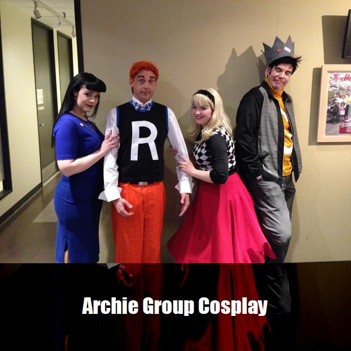 Archie Group Cosplay 5