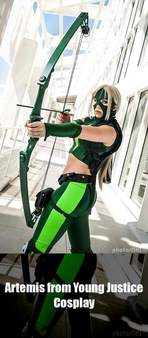 Artemis From Young Justice Cosplay 1
