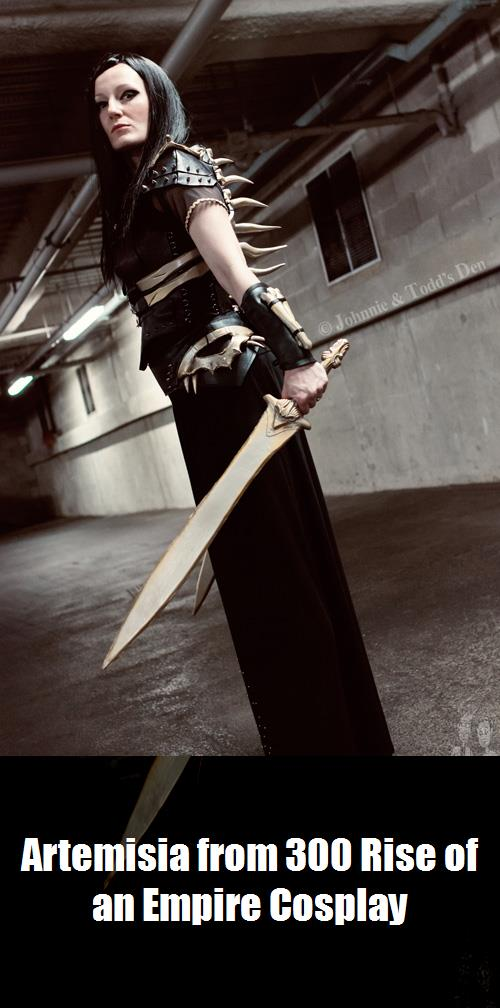 Artemisia From 300 Rise Of An Empire Cosplay