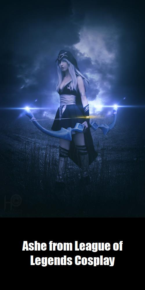 Ashe From League Of Legends Cosplay