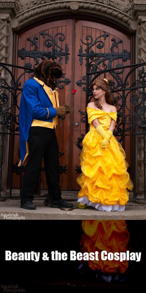 Beauty The Beast Cosplay 1