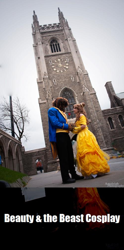 Beauty The Beast Cosplay 3
