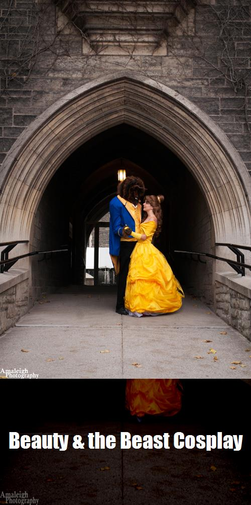 Beauty The Beast Cosplay 4