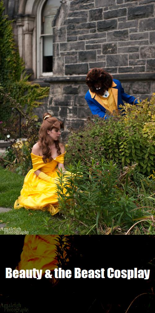 Beauty The Beast Cosplay 5